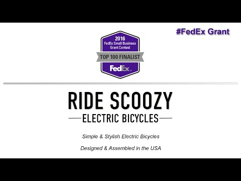 #FedExGrant Final 100 by Ride Scoozy - What is your Passion?