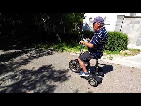 Ultimate Etalon Move elektromos háromkerekű tricikli