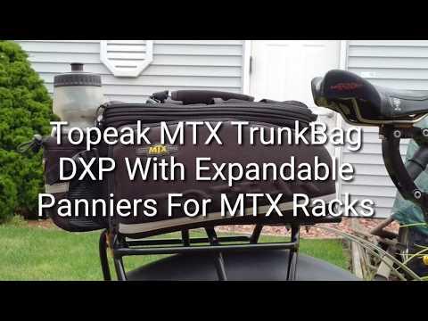 Review of the Topeak MTX TrunkBag