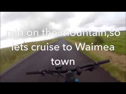 Bafang 1000w Santa Cruz 2018 Chameleon Prt.3 -25mile loop through  Waimea town, Big Island Hawaii