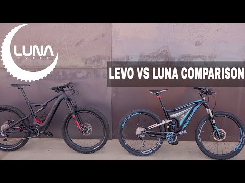 Specialized Turbo Levo vs Luna BBSHD Ludicrous