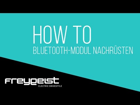 FREYGEIST How to: Bluetooth-Modul nachrüsten