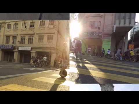 Wind Rider eBike on the Kuala Lumpur Car Free Morning