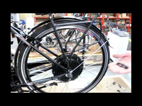 ElectricBike Conversions    Fitting a Rack Battery