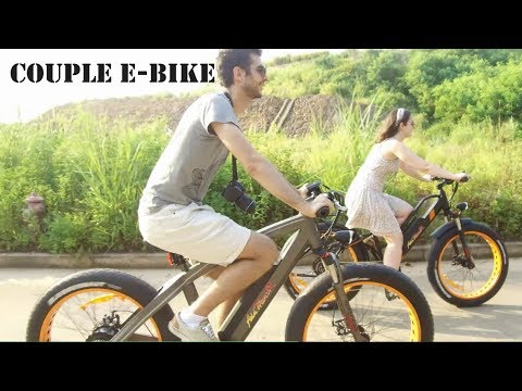 Couple E-bike Addmotor MOTAN M-450 And M-560 Electric Bicycle