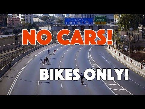 Bicycle-only Interstates and Highways - No Cars Allowed (Seriously!)