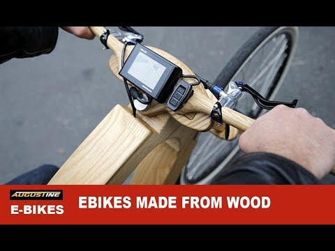 Amazing Ebikes made from wood