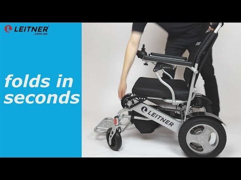 $2595 electric wheelchair, folding and light-weight: Leitner FRANKIE