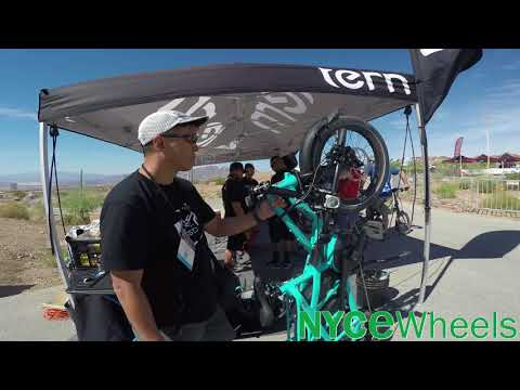 Tern GSD first look with Josh Hon - Interbike 2018
