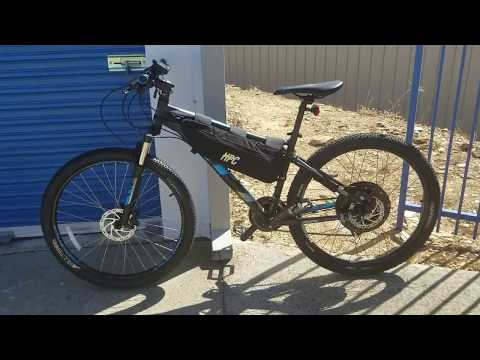 2000w - Hardtail Dark Knight in Matte Black -BEST VALUE WITH PERFORMANCE