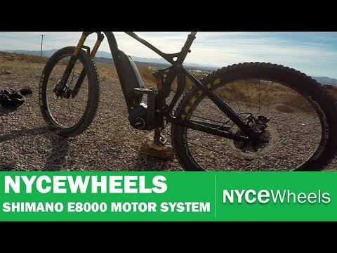 Shimano E8000 Mid Drive System - First Look | Electric bike tech