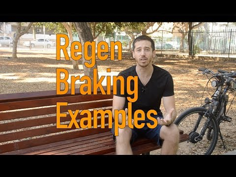 Check out these regenerative braking ebikes you guys sent in!