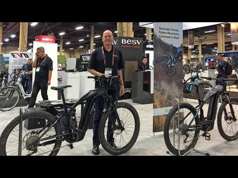 2018 BESV Electric Bike Updates Interbike (Votani X1, BESV JS1 & PS1 Advanced, TRB Series XC & AM)