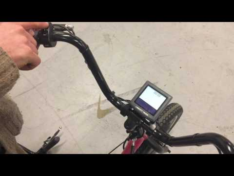 Liberty Trike Clock setting - LCD programming