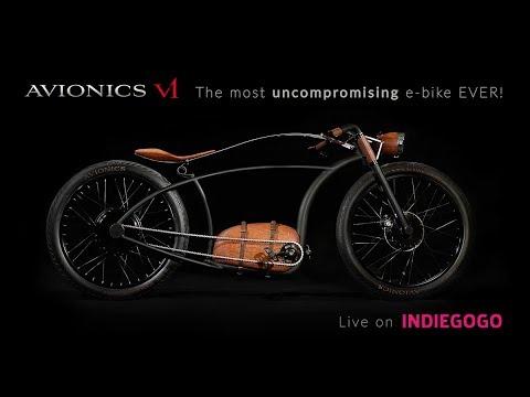 AVIONICS V1 - The most uncompromising e-bike EVER!