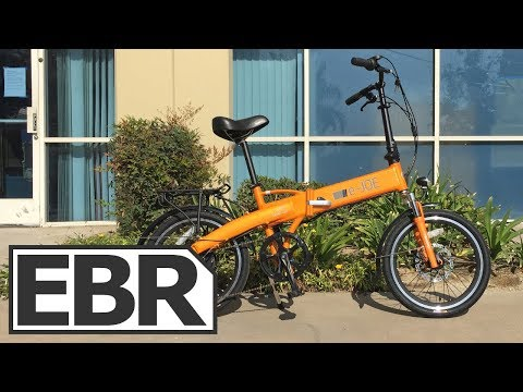 e-Joe Epik SE Video Review - $1.6k Powerful 500W Folding Electric Bike