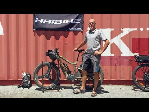 Custom Trekking / Bikepacking Electric Fat Bike - Haibike XDURO FatSix