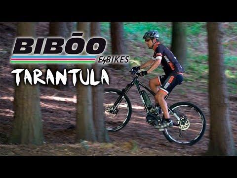 Sube cualquier terreno con la E-bici BIBŌO TARÁNTULA