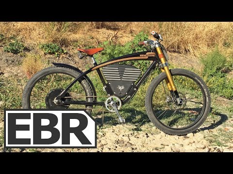 Vintage Electric Scrambler Video Review - $7k Classic Motorcycle Inspired Ebike, Powerful, Fast