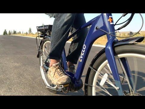 EVELO Galaxy TT Cruiser Commuter Electric Bike Review | Electric Bike Report