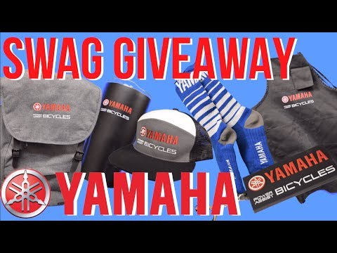 Swag Giveaway from YAMAHA Power Assist Bicycles
