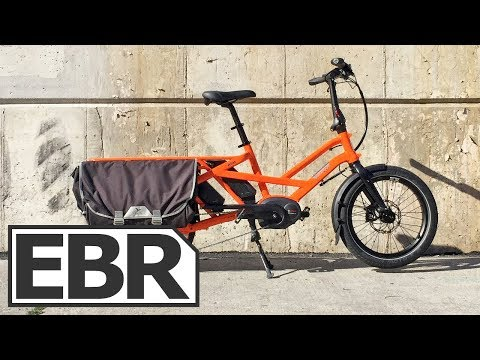 Tern GSD Video Review - $4k Compact Electric Cargo Bike, Vertical Storage, Part Folding