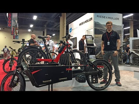 2018 Riese & Müller Electric Bike Updates Interbike (Deluxe Signature, Packster 40, Roadster Mixte)