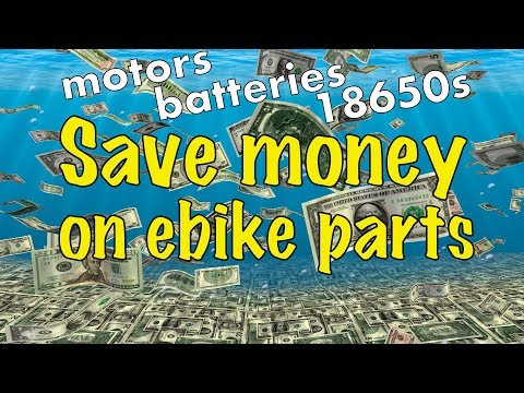 SAVE MONEY on Ebike Parts with China's Annual 11.11 Sale!