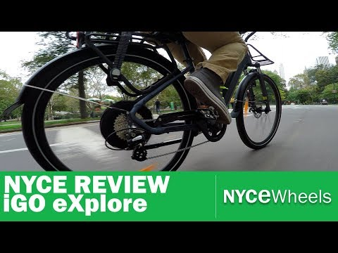 iGo Explore Electric Bike Review | Comfort Commuter E-Bike