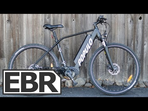 Populo Scout Video Review - $1.7k Urban Electric Bike, Bafang Max Drive