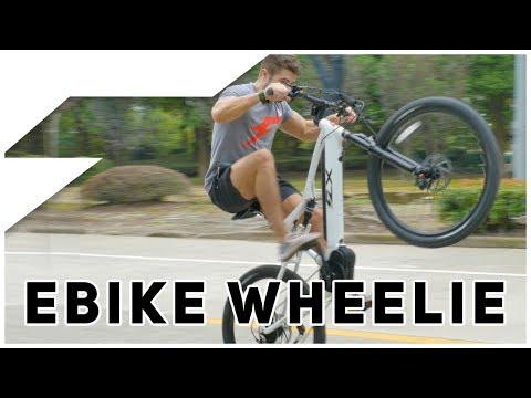 Can you do a Wheelie on an eBike?
