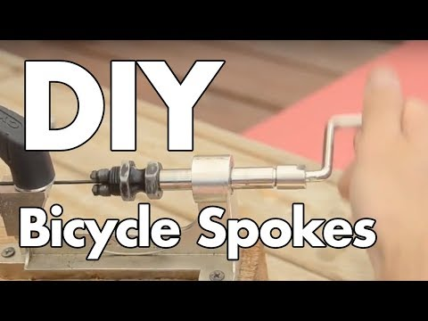 How to Make Your Own Bicycle Spokes (Cyclo or Hozan Tool!)