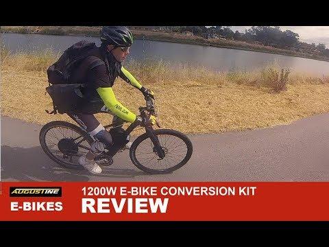 Electric Bike Review. FAST 1200w Ebike conversion kit