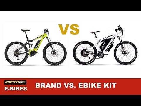 Electric Bike Tips. Comparing Brand Ebikes vs Ebike Kits