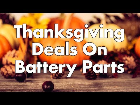 Battery Building Deals This Black Friday & Cyber Monday!