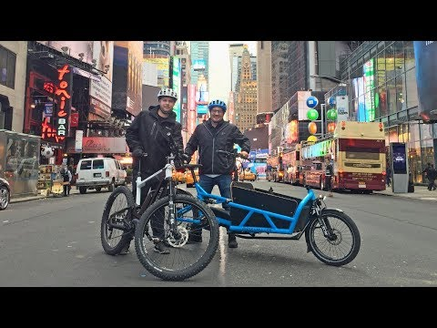 Let's Ride: Brooklyn to Manhattan, NYC on Riese & Müller Electric Bikes