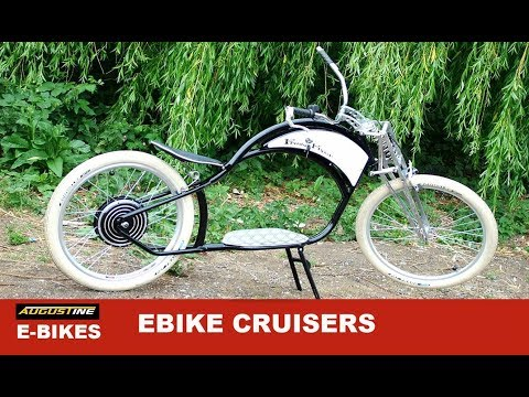 The Ultimate Ebike cruisers, High Performing Machines that look amazing