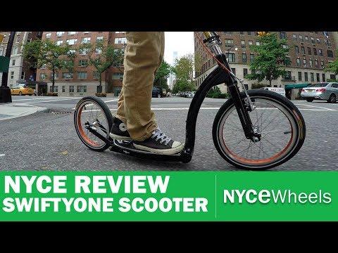 Swifty One Review | Folding Scooter | Kickbike