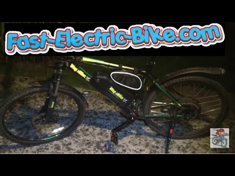 1700w 48v Wing EBike 48v Ebike service and review