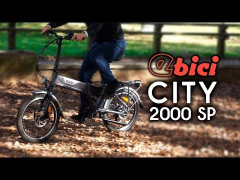 Bici eléctrica plegable CITY 2000 SP de Ebici