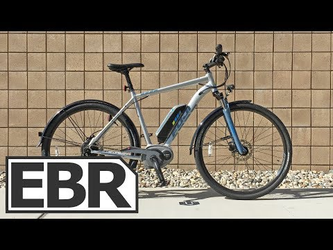 Fuji E-Traverse Classic + Video Review - $2.8k Sporty Hybrid Ebike, 8 Sizes, Bosch Active Line