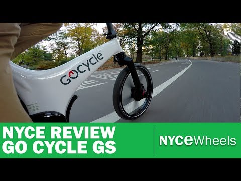 Go Cycle GS Electric BIke Review - Stowable E-Bike