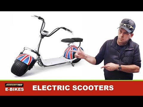 Very Cool Electric Scooters