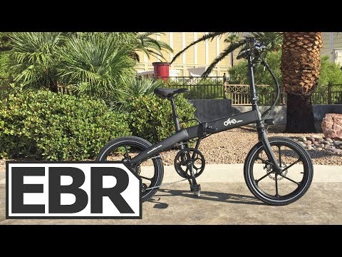 Enzo Lite Video Review - $1.4k Folding Electric Bike, Sturdy Cast Wheels, Ozne Ebike