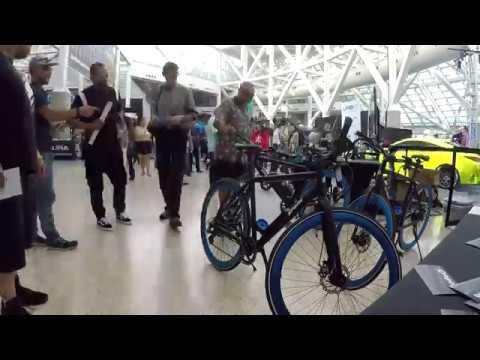 E-Bikes at LA Auto Show2017