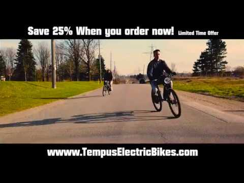 Big Holiday Sale, The Titan V1 | TheRide011 | Tempus Electric Bikes