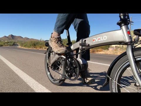 EVELO Quest Max Folding Electric Bike Review | Electric Bike Report