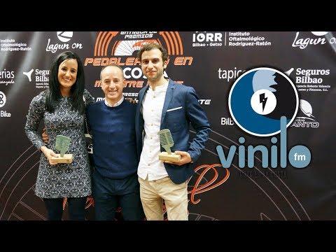 Resumen de entrega de los Premios Pedaleando en la costa Vinilo FM