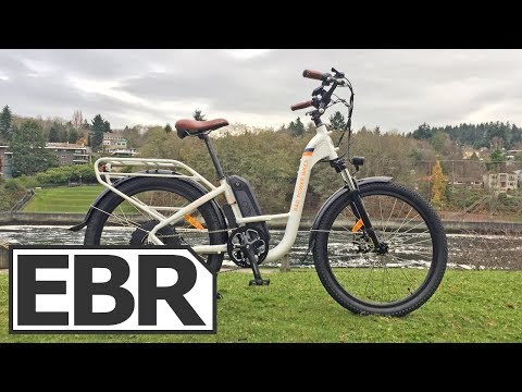 Rad Power Bikes RadCity Step-Thru Video Review - $1.5k Quite, Affordable, Low Ebike