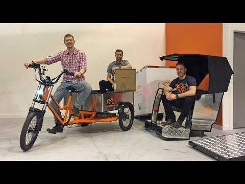 RadBurro Commercial Ebike Review - $5.5k Light Electric Truck Mover, Food, Electric Pedicab)